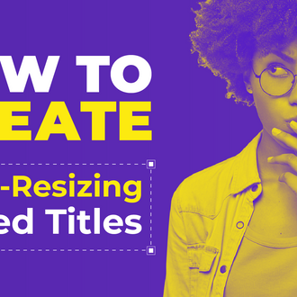 How To Create Auto-Resizing Boxed Titles | After Effects Tutorial