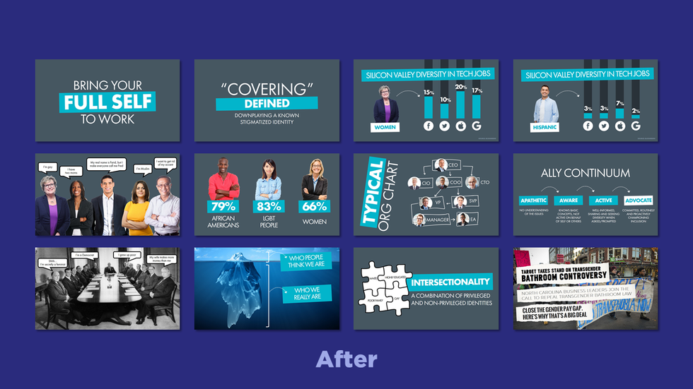 We Are Visual - Before & After Examples