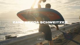 Zane Kekoa Schweitzer Foil Surf