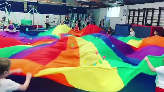 Parachute Fun