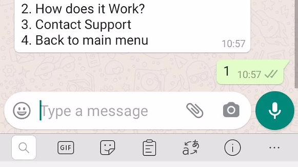 WhatsApp Finance
