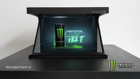 Monster Energy Display by Wonderment.nl studio