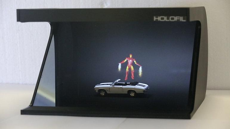 Iron Man on a car