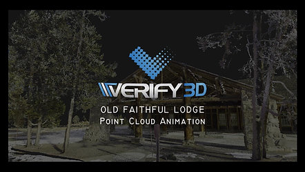 Old Faithful Lodge - Point Cloud Animation