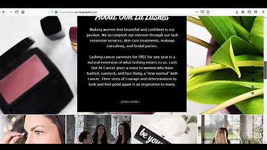 Ooh La Lashes Website