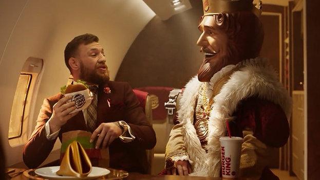 Burger King | Conor McGregor presents The Spicy Crispy Chicken Sandwich