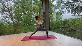 Vinyasa flow energizante de 30 minutos