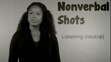 091 | Nonverbal Shots | Listening (neutral)