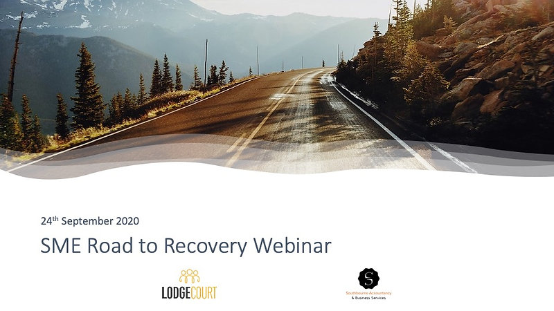 SME Road to Recovery Webinar