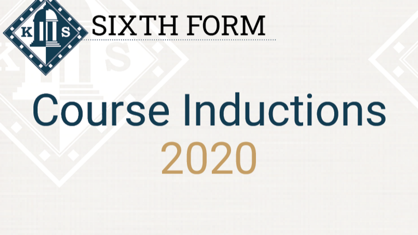 Sixth Form Course Inductions