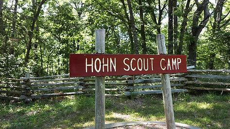 Camp Hohn Scouting