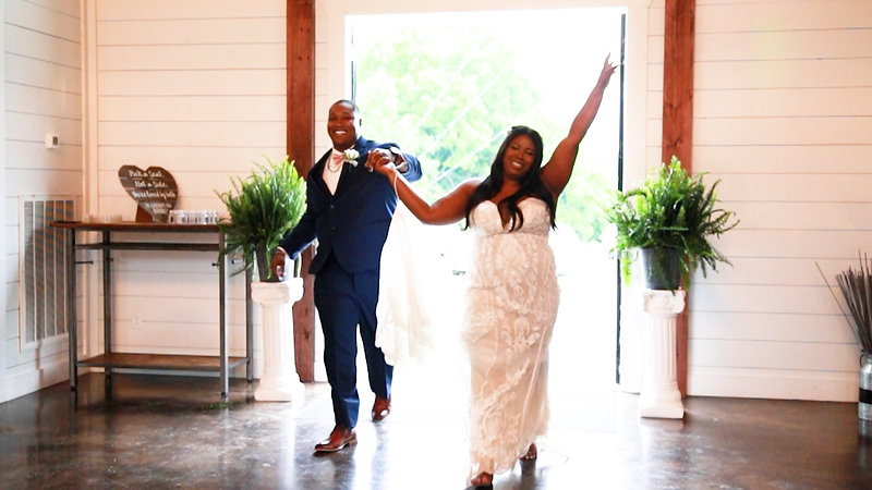Brittany & Quincy Wedding Reception