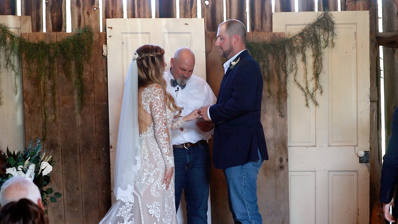 Jen & Colby Wedding Ceremony