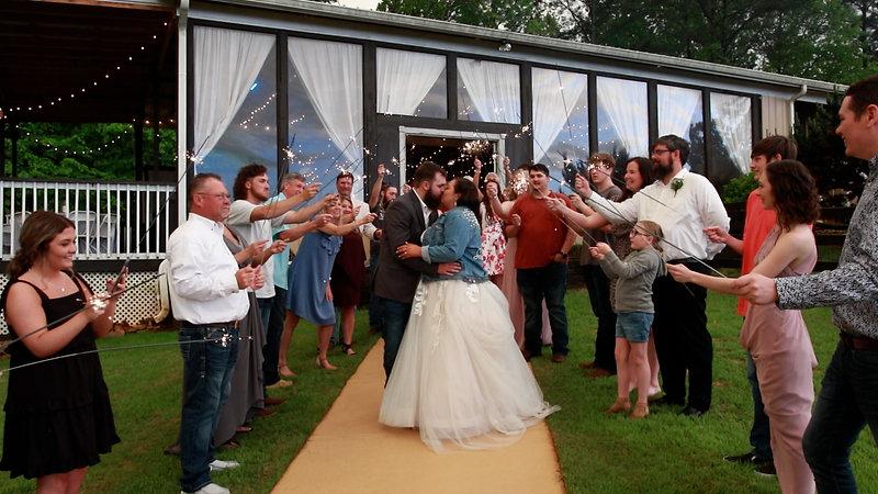Morgan & Xavier Wedding Reception
