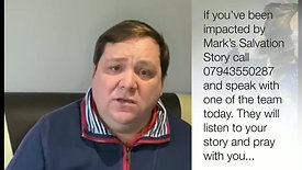 Mark Burton Salvation Story If you've been impacted by this video call us on 07943550287 📞