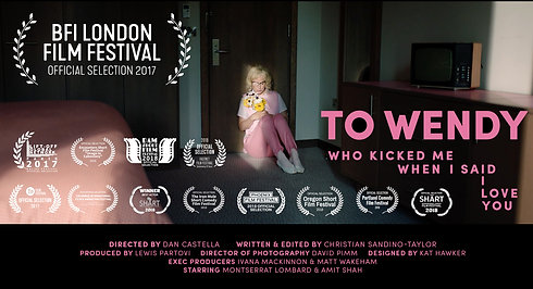 To Wendy Who Kicked Me When I Said I Love You - Official Trailer