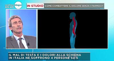 COME COMBATTERE IL MAL DI SCHIENA- MEDIASET - MATTINO 5