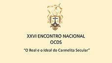 XXVI ENCONTRO NACIONAL DA OCDS