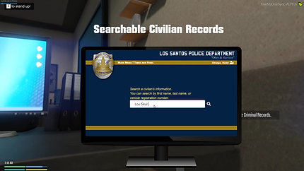 Custom MDT and Criminal Records