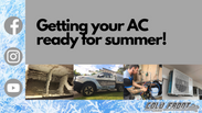 ❄️Get your AC ready for Summer!❄️