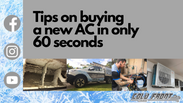 Tips on buying a new AC