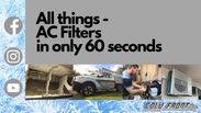 60.1 How & why you should clean your AC filter