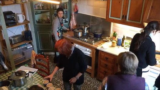 Retiro de cocina vegetariana energética y consciente