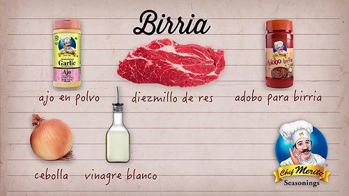 Chef Merito Joker 2 - Birria
