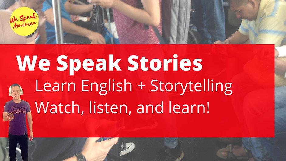 We Speak Stories