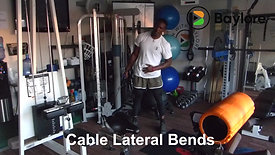 Cable Lateral Bends