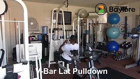 V-Bar Lat Pulldown