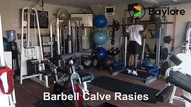 Barbell Calve Rasies