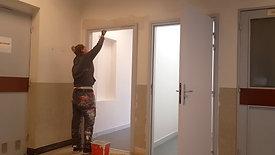 Ludivine, peintre dans l'entreprise S2P