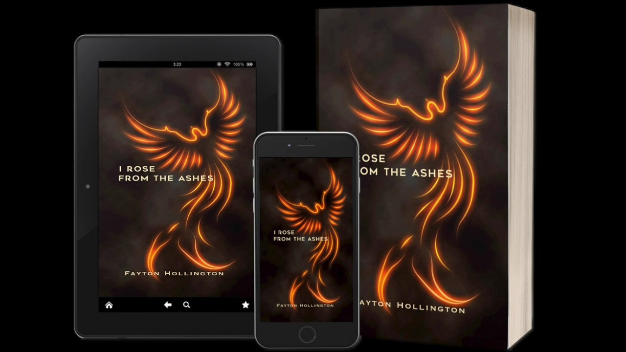 I ROSE FROM THE ASHES - Book Trailer