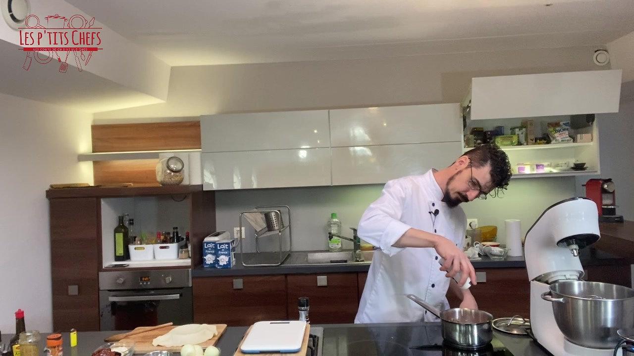 Tatin de tomates séchées et mozzarella