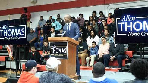 Allen Thomas for Lieutenant Governor