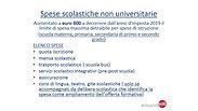 NOVITA' FISCALI 730-2020