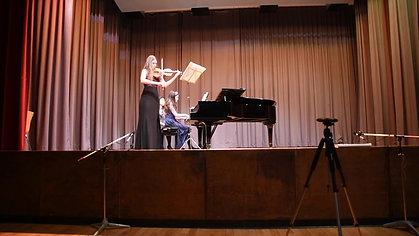 Dvořák - Sonatina in G Major Op. 100 - Malaika Wainwright Concert