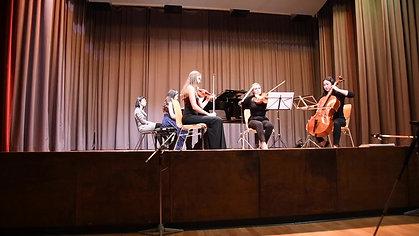 Beethoven - Piano Quartet in C Major, W. Op 36/3 - Malaika Wainwright Concert