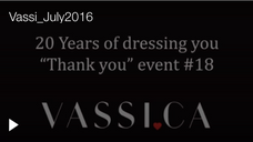 Vassi (Men's Suit Store) in Canada Promo