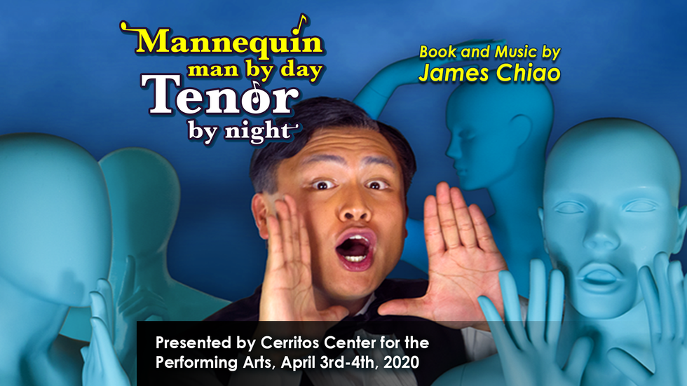 Mannequin Man by Day, Tenor by Night: a new musical