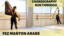FSZ Manton Arabe -  CHOREOGRAPHY RUN THROUGH