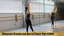 Braceo Exercise with Foot Pattern