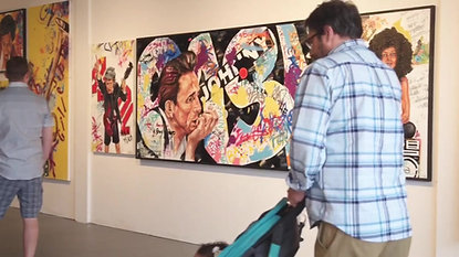 Faces of Music exhibition