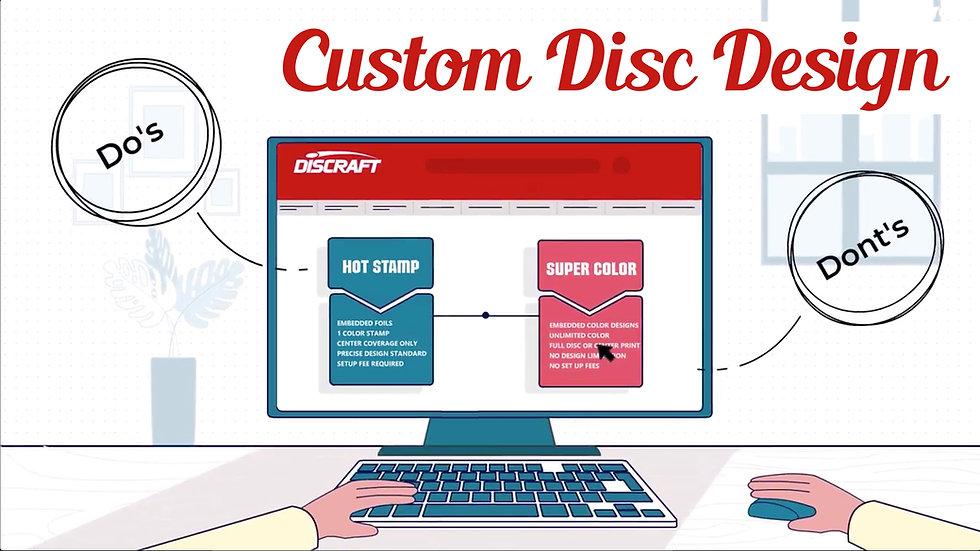 Discraft Custom Ultimate Print Options