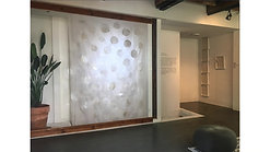 solo exhibition installation