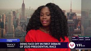 Kadia Tubman talks about first Democratic debates on Yahoo Finance