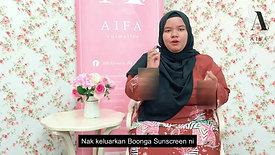 Testimoni Boonga Sunscreen (Didiey)