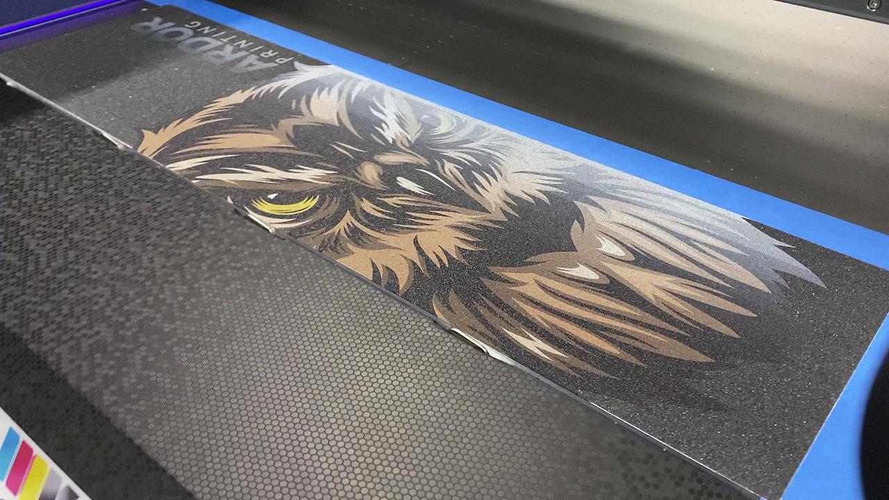 Grip Tape Printing Process