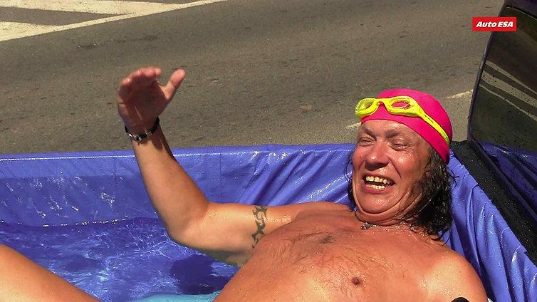 Richard Genzer na dovolené